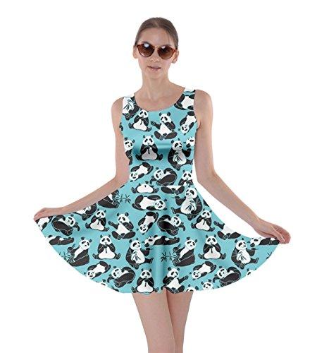 Animal Dog Pig Sheep Dress 5XL Hippo Cat Womens Light Blue CowCow Rabbit Panda Skater Horse XS wInY5qWPz