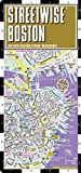 img - for Streetwise Boston Map - Laminated City Center Street Map of Boston, Massachusetts - Folding pocket size travel map with MBTA subway map & trolley lines book / textbook / text book