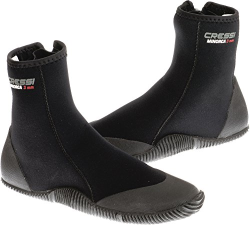 Cressi Minorca 3mm Boots with Sole, 7