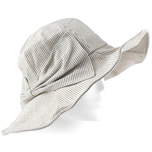 Packable Summer Beach Sun Hat - Flexible Wide Wire Brim - Tan - City Panama Stores Clothing Beach