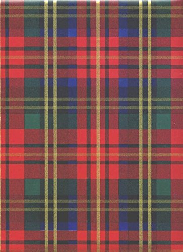 amazon com red plaid christmas heavy embossed extra wide giftred plaid christmas heavy embossed extra wide gift wrapping paper 30 in x 25 ft