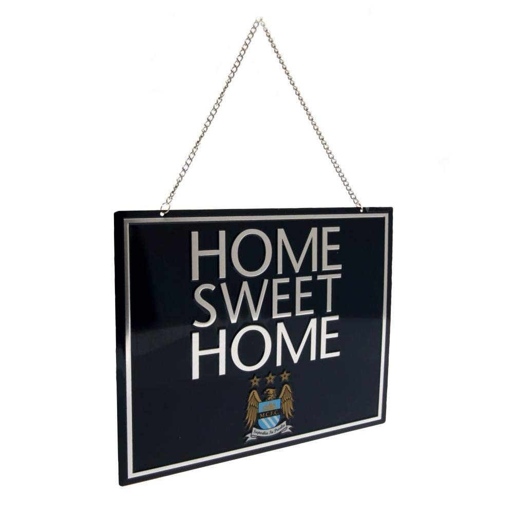 Manchester City FC Official EC Home Sweet Home Sign