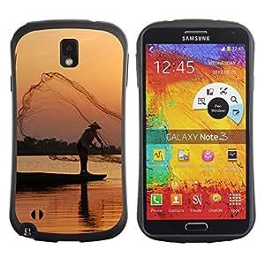 Pulsar iFace Series Tpu silicona Carcasa Funda Case para SAMSUNG Galaxy Note 3 III / N9000 / N9005 , Nature Beautiful Forrest Green 100