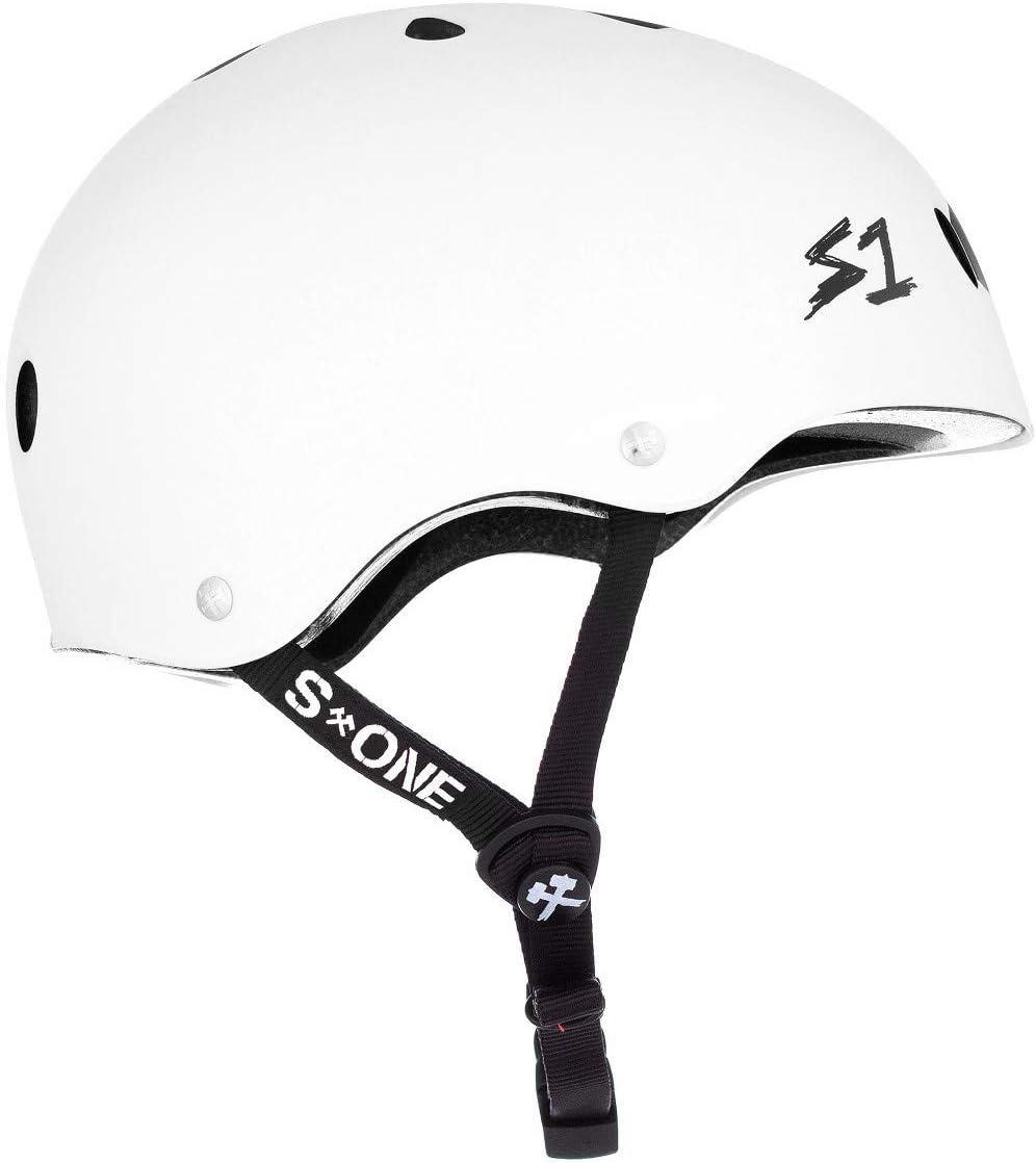 23.5 Multi-Impact Helmet Black Matte XXX-Large S-ONE Lifer CPSC