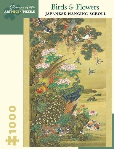 Birds Flowers Japanese Hanging Scroll 1000 Piece Jigsaw Puzzle Inglese Forniture Assortite 25 Gen 2018
