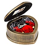 EINID-Handmade-Preserved-Rose-3-Immortal-Red-Rose-Flowers-Preserved-in-a-Heart-Shaped-Musical-BoxBest-Gift-for-Her-on-Mothers-DayValentines-DayAnniversary-Or-BirthdayMusic-Red-Rose