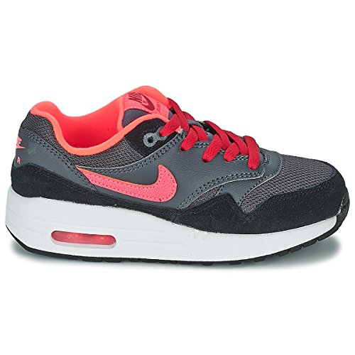 Nike Air Max 1 Grey Black Youths Trainers