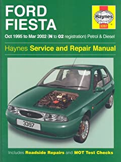 ford fiesta owners workshop manual 2002 to 2008 haynes service and rh amazon co uk Ford Fiesta Manual Transmission 2012 Ford Fiesta Owner's Manual