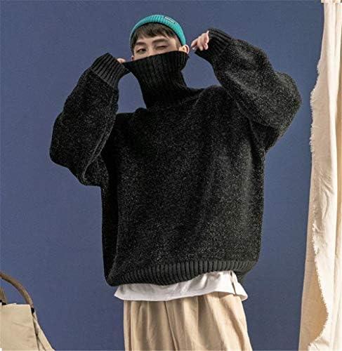 メンズ タートルネック セーター ニット プルオーバー 長袖 カジュアル 厚手 トップス 秋冬 シンプル ファッション コーディネート