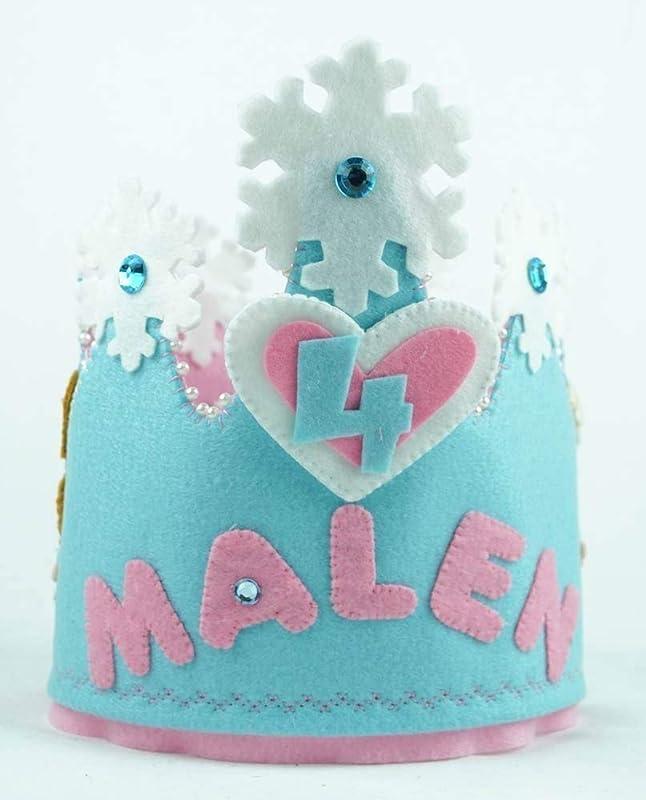 Corona Cumpleaños fieltro Frozen: Amazon.es: Handmade