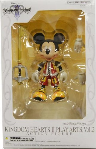 Kingdom Hearts II - King Mickey Play Arts Action Figure