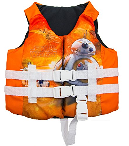(SwimWAys Star Wars BB-8 PFD Child Life Jacket )