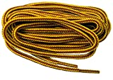 GREATLACES Rugged Wear proBOOT (TM) Gold - Tan Brown proBOOT(TM) Laces Shoelaces - 2 Pair Pack (40 Inch 102 cm)