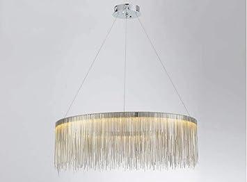 Led Kronleuchter Rund ~ Mamrar luxus tassel kronleuchter rund led anhänger lampe