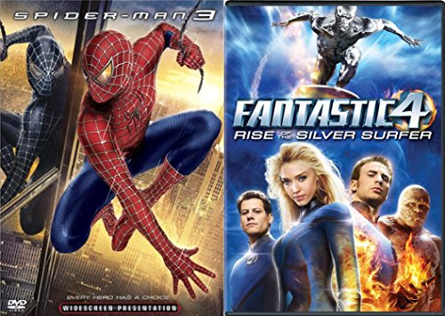 Marvel Universe Bundle - Spider-Man 3 & Fantastic 4: Rise of the Silver Surfer 2-DVD Set