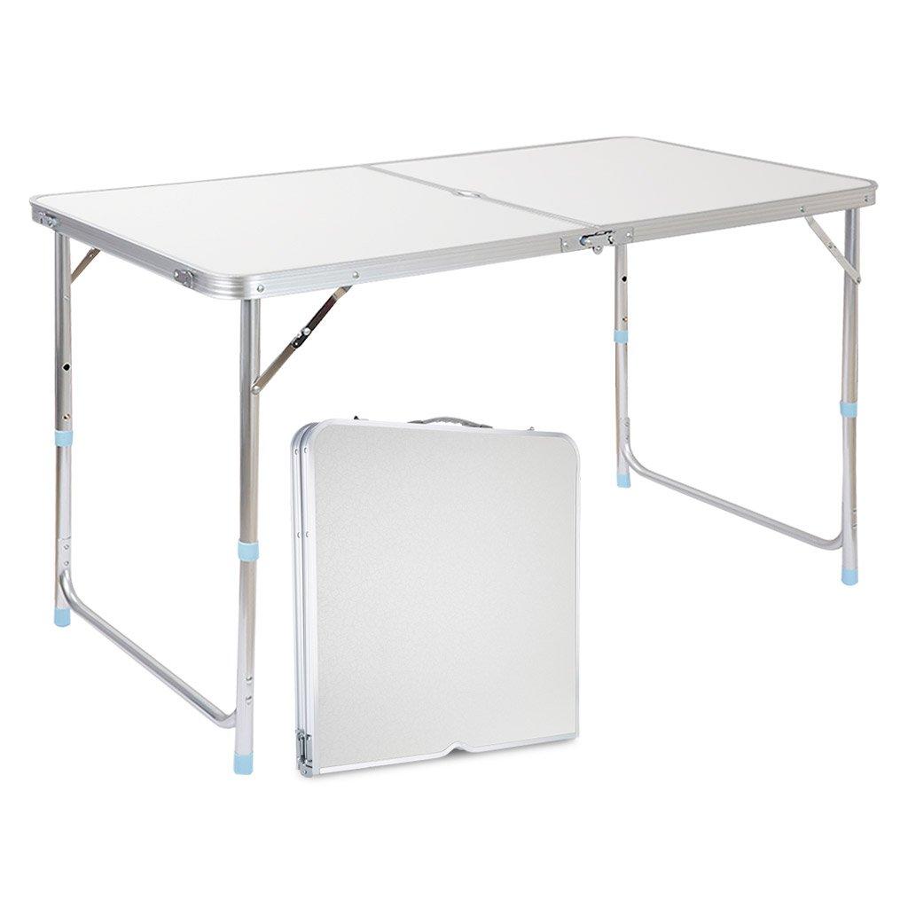 Finether Tavolino Pieghevole in Alluminio Esterno per Terrazzo ...