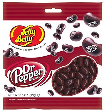 (Jelly Belly Dr. Pepper Jelly Beans - 3.5 oz Bag - Fresh Product)