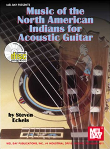 Mel Bay Music of the North American Indians for Acoustic Guitar Book/CD set
