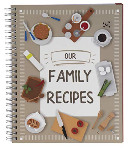 Recipe Notebook - Family Recipe Notebook Journal,