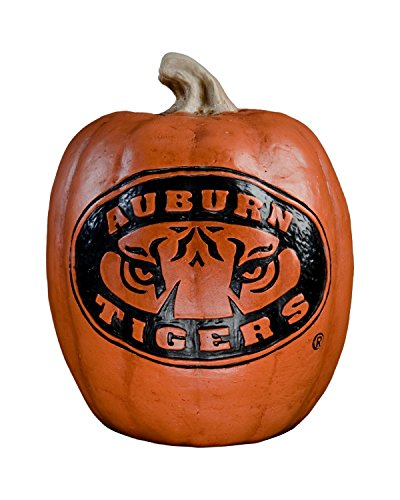 - Cumberland Designs Tiger Eyes Auburn Resin Pumpkin Decor, Small
