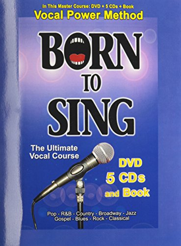 Born to Sing: Master Course (includes DVD & 5CDs & Vocal Power Method Instruction Book)