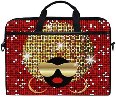 WXLIFE African Shoulder Messenger Briefcase product image
