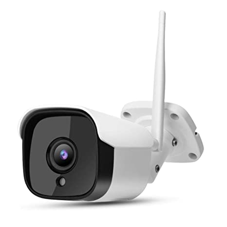 1080p HD Cámara Bala Inalámbrica, WiFi Cámara de Vigilancia ...