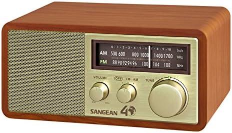 Amazon.com: Sangean WR-11SE AM/FM Table Top Radio 40th Anniversary Edition: Home Audio & Theater