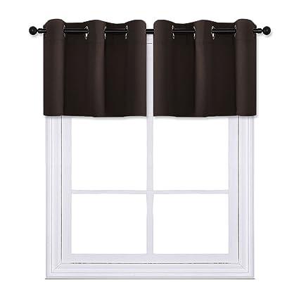 Bon PONY DANCE Short Windows Treatments Tier Valances Curtain Drapes Small  Windows Kitchen/Basement/Dining