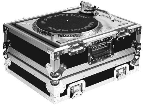 Marathon Flight Road Case MA-1200B Heavy Duty Turntable Deluxe Case Fits Technics 1200 & All Other Brand Turntables
