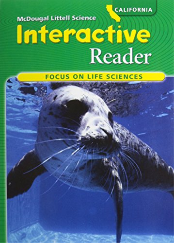 McDougal Littell Science: Focus on Life Science InterActive Reader (Student) Grade 7 Life Science
