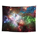 Startview Christmas Xmas Stars Tapestry Hippie Room Bedspread Wall Hanging Throw Blanket (I)