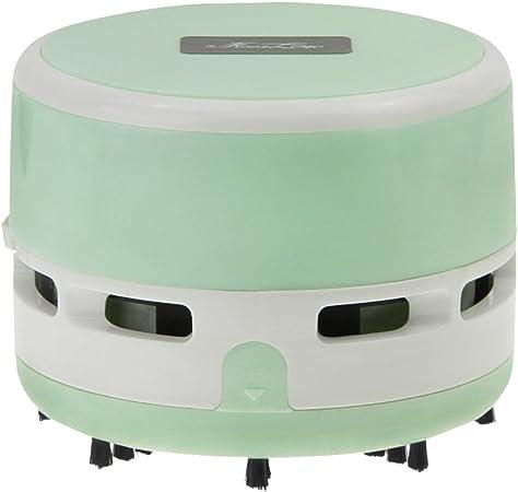 Aspirador portátil de mano de sobremesa para el hogar de la cocina mini migas vacío coche oficina ordenador escritorio removedor de polvo Clearner (Mint-verde): Amazon.es: Hogar
