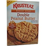 Krusteaz Bakery Style Cookie Mix, Double Peanut Butter, 16 Ounce (Pack of 4) by Krusteaz
