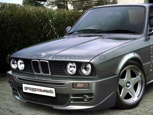 Front Bumper Spoiler FSTBMWE30-01 Front Bumper: