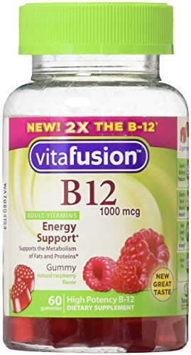Vitafusion Vitamin B 12 1000 mcg Supplement