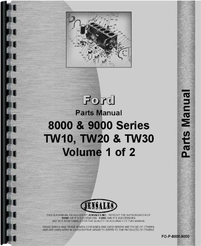 Download Ford 9600 Tractor Parts Manual pdf epub