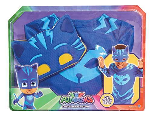 [PJ Masks Cat Boy Costume Set] (Usa Costume For Kids Boys)