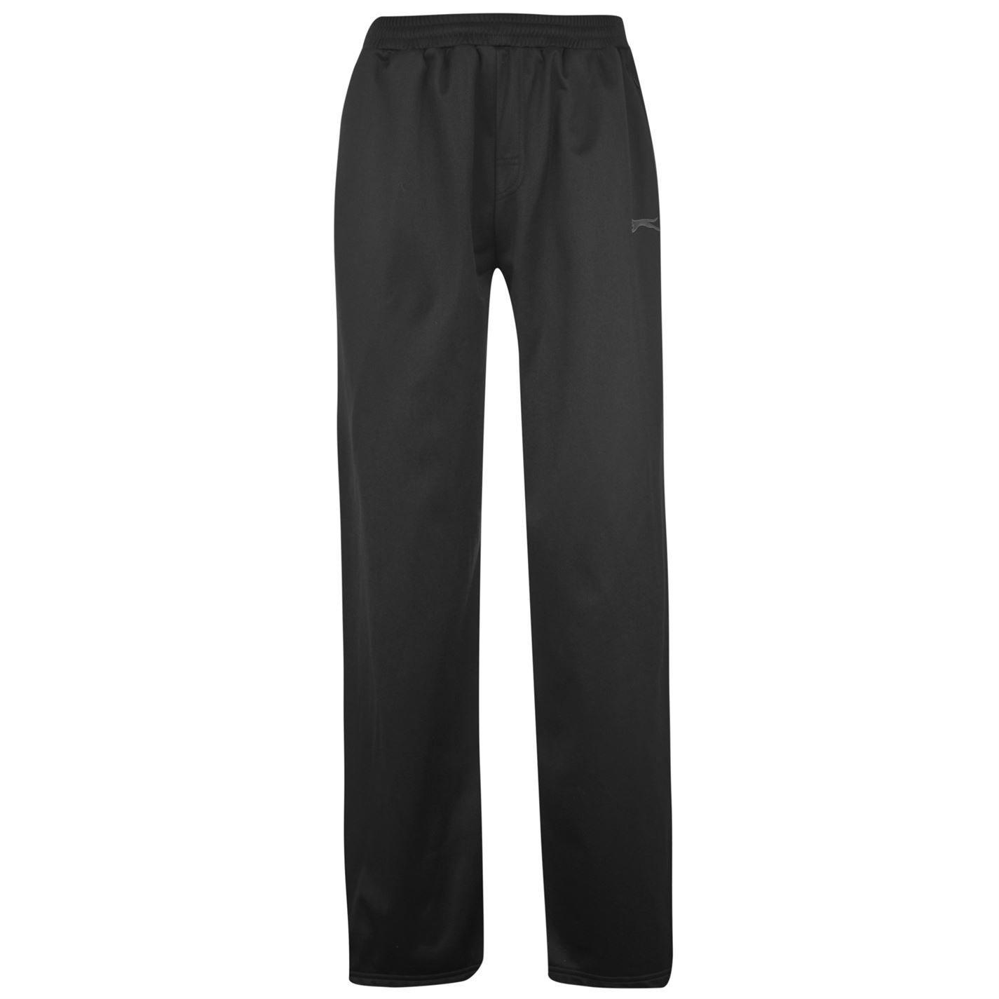 05d154ca65e Slazenger Mens Poly Pants Gents Sports Training Running Tracksuit Bottoms:  Amazon.co.uk: Sports & Outdoors