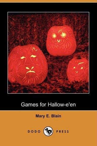 Games for Hallow-E'En (Dodo Press) -