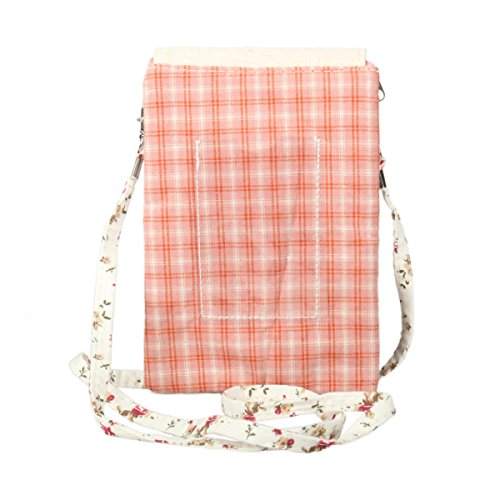 Canvas Darama Pouch Crossbody Women's Premium Red Phone Zipper Bag x1EB6w4
