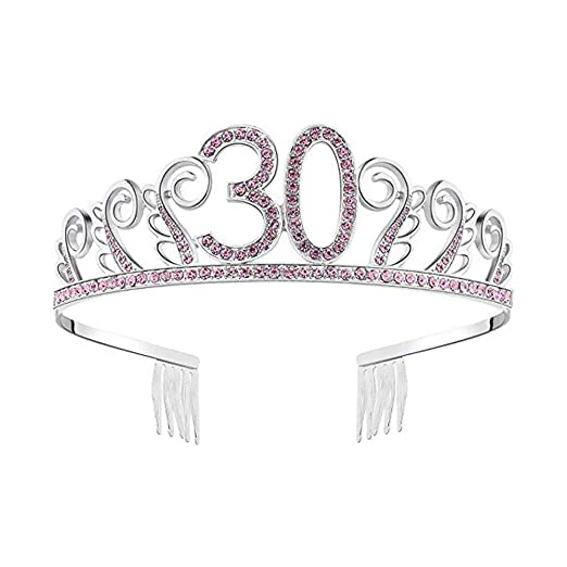 Kbsin212 Corona Princesa Cristal Tiara Diademas Feliz ...
