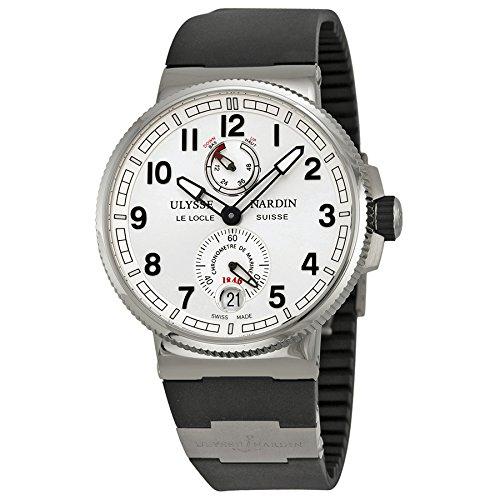 Ulysse Nardin Marine Chronometer Silver Dial Mens Watch 11831263/61 (Ulysse Marine Nardin Chronometer)