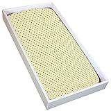 Kushies S340-A02 Change Pad Fitted Sheet, Yellow Dots