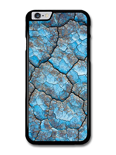 Beautiful Blue Cracked Surface Grunge Hipster Style case for iPhone 6 Plus 6S Plus