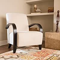 Christopher Knight Home 298176 Tobias Arm Chair, Ivory