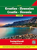Kroatien-Slowenien Superatlas, Autoatlas 1:150.000, freytag & berndt Autoatlanten