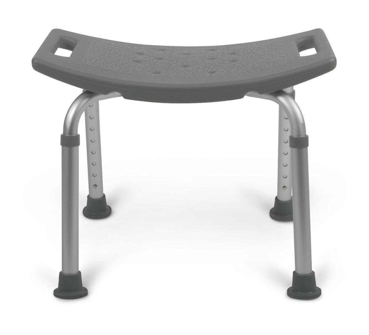 B005FGLW7O Medline MDS89740KD Knockdown Aluminum Bath Benches without Back (Pack of 2) 51EHNMo5k7L