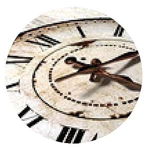 alfombrilla de ratón reloj de la vendimia - ronda - 20cm