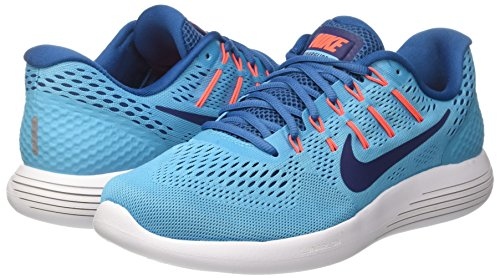 Pictures of Nike Lunarglide 8 Chlorine Blue/Binary Blue 843725 4